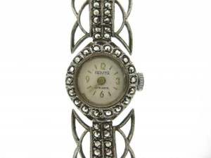 Marcasite Stylish Watch