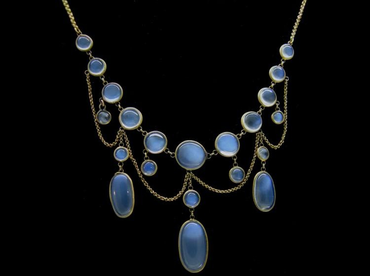 moonstone jewelry gold - photo #21