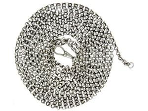 Silver Victorian Guard Chain