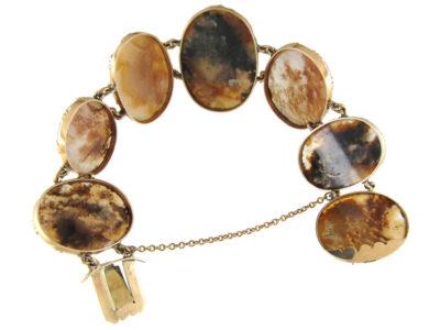 Georgian Gold & Agate Bracelet