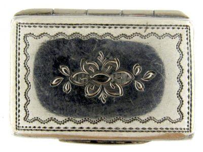 Georgian Silver Vinaigrette