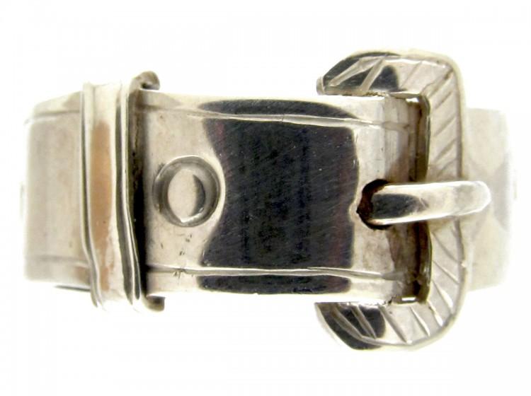 Victorian-Silver-Gentleman's-Buckle-Ring-(2)