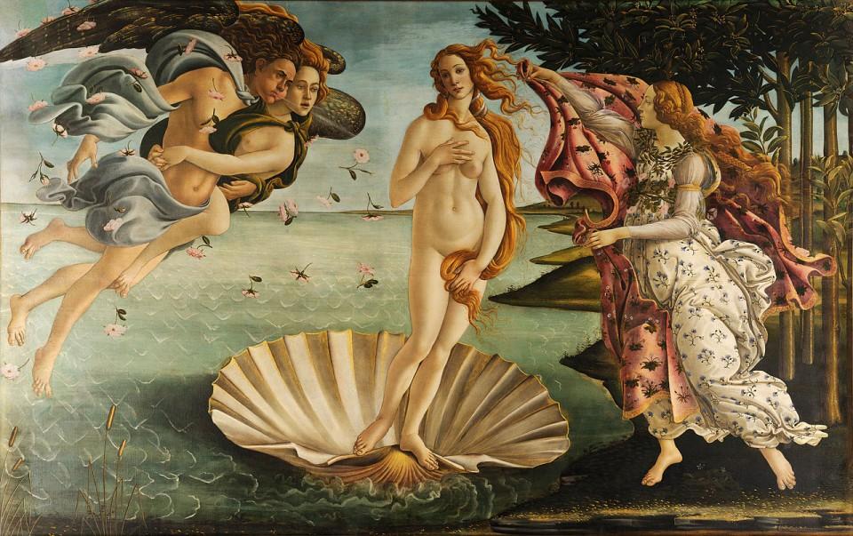 Sandro Botticelli, 'The Birth of Venus' (c.1485-86)