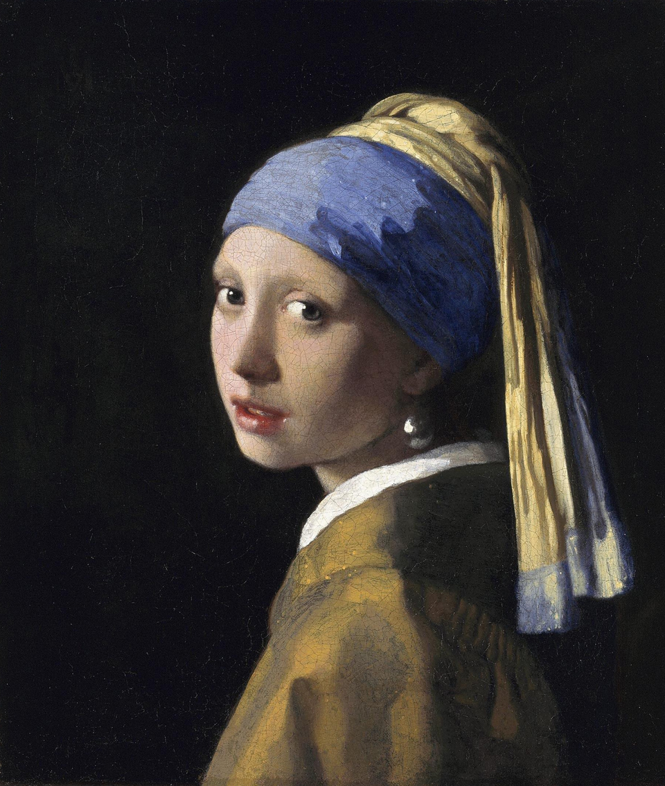 Girl with a Pearl Earring (1665), Johannes Vermeer