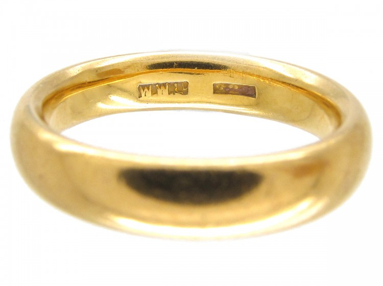 Victorian 22ct Gold Wedding Ring The Antique Jewellery Company