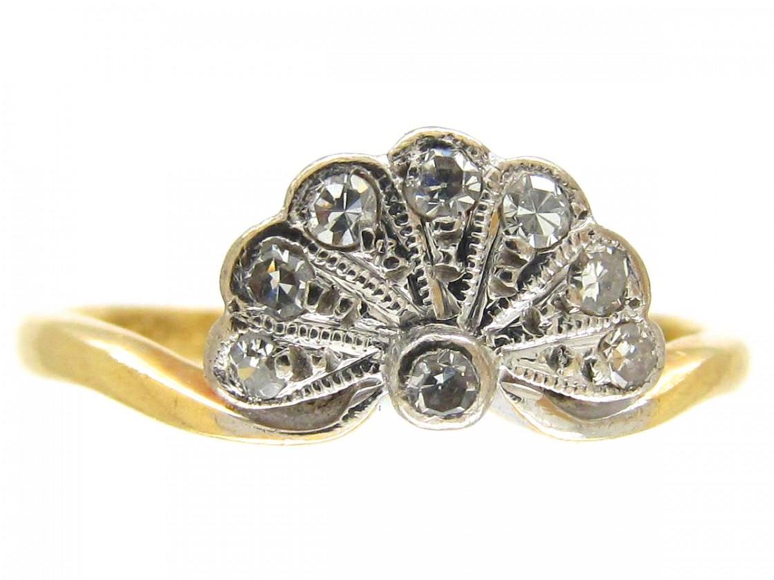 Art Nouveau Engagement Rings Uk