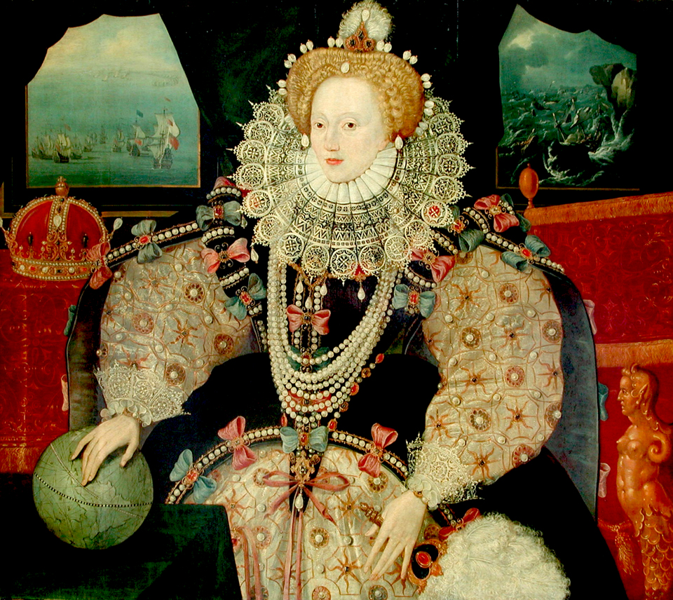 The Armada Portrait (1588), by George Gower