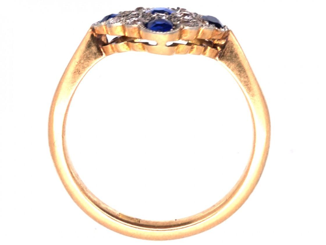 Blue Sapphire Ring  Thousand