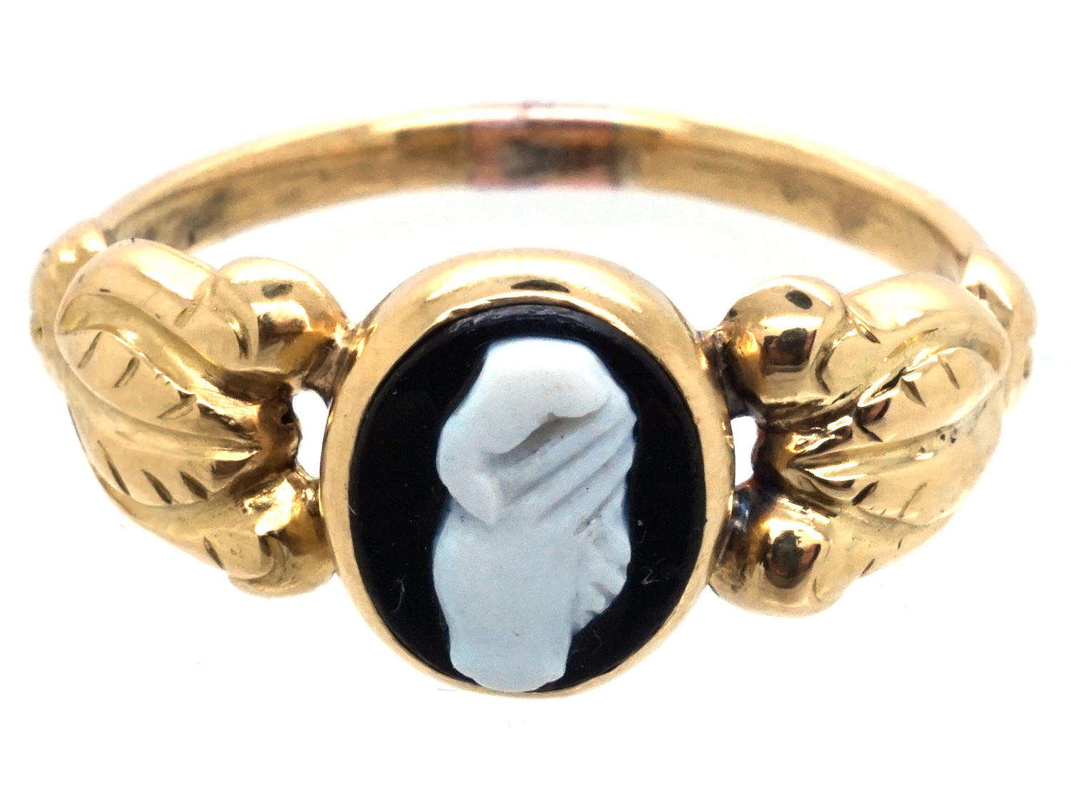 Regency 18ct Gold Clasped Hands Friendship Ring The