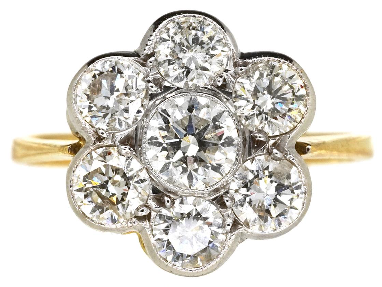 Antique Yellow Gold Diamond Rings