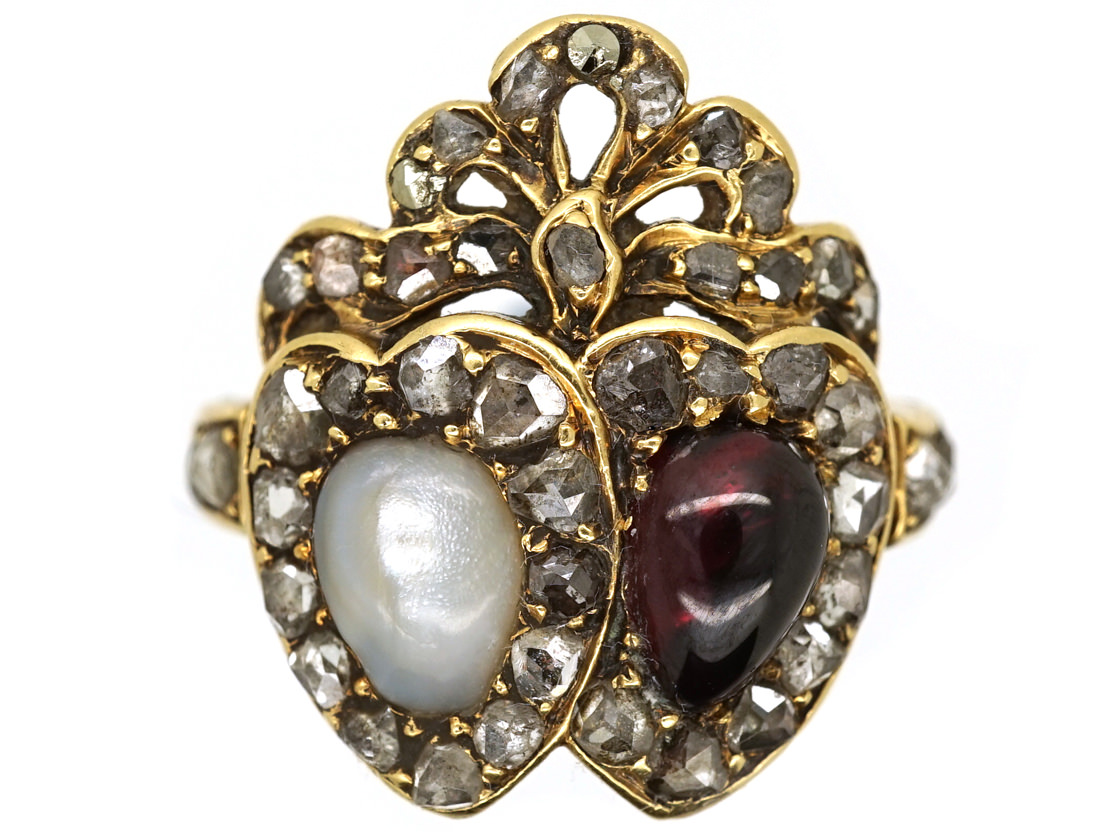 Antique Ruby Rings London Olly