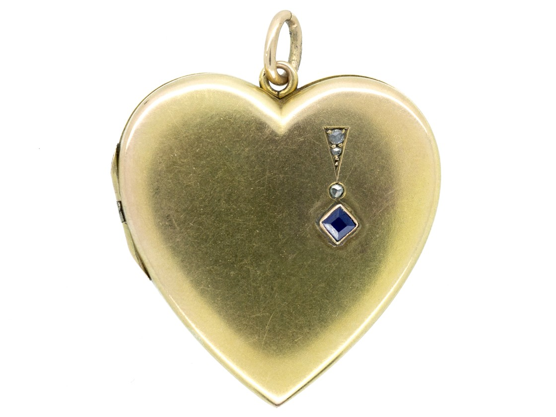 gold lockets locket resize lily sapphire blanche heart love