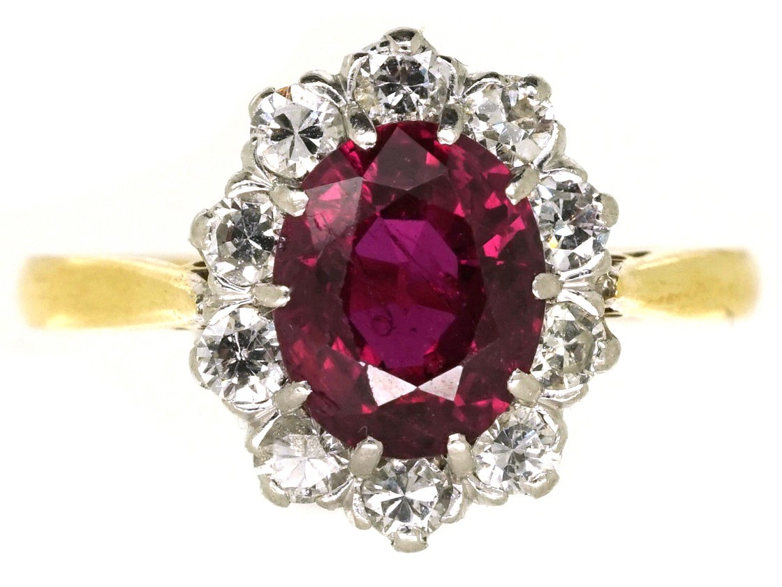 Five Year Engagement Ring Ruby | www.galleryhip.com - The Hippest Pics Five Year Engagement Ring