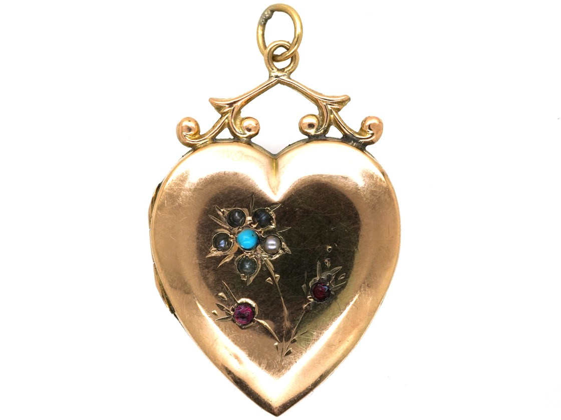 store for with chain gold letter and at dp alphabet pendant men online buy prices a plated locket lockets low pretty jewellery women india heart bll in amazon meenaz