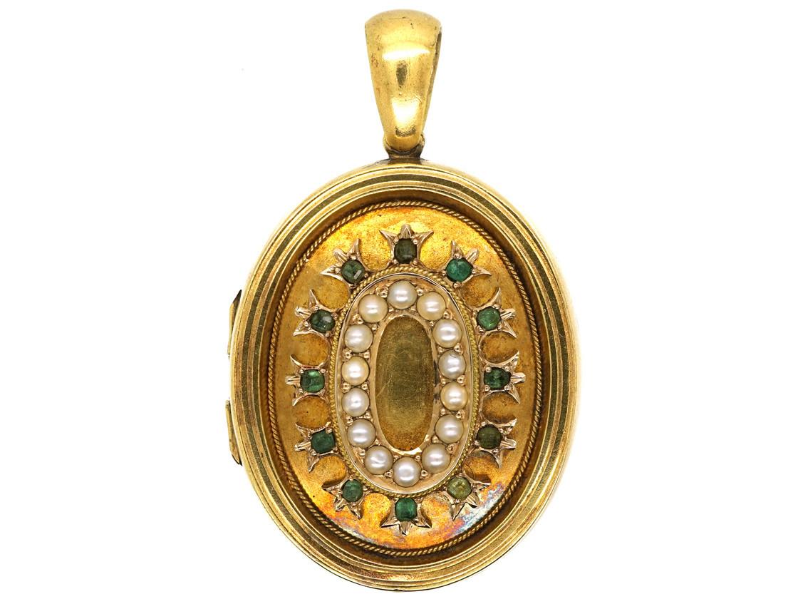 Victorian 15ct Gold Oval Locket Set With Emeralds. Tassel Platinum. Number Platinum. Due Date Platinum. Blue Stone Platinum. Datejust Platinum. Platium Platinum. Mine Platinum. Wasafi Classic Platinum