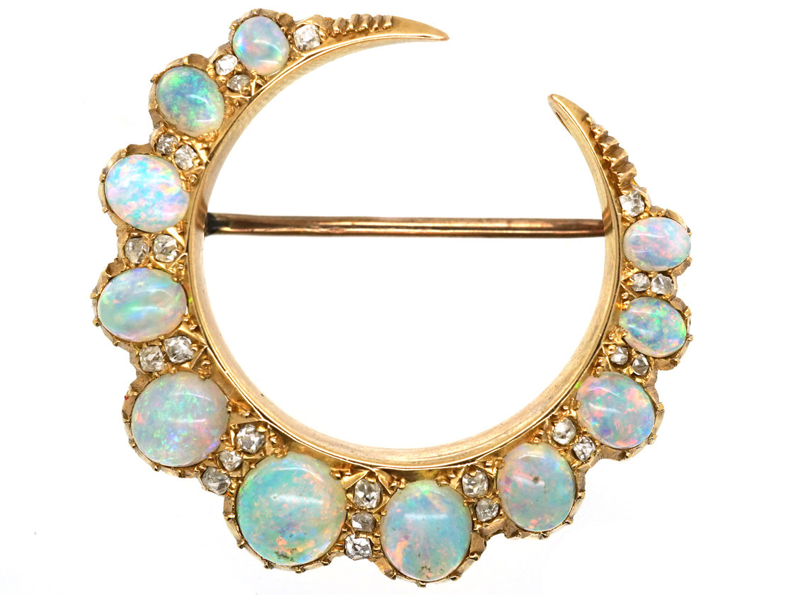 deco surrounded id master in for by opal v pendant set gold jewelry art large brooch diamonds brooches sale
