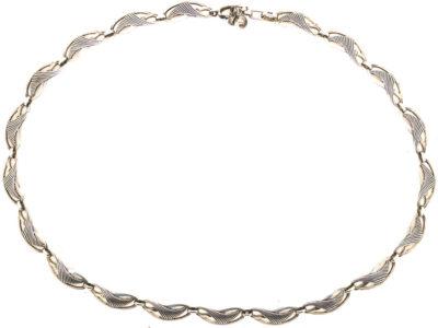 German Art Nouveau Silver Necklace