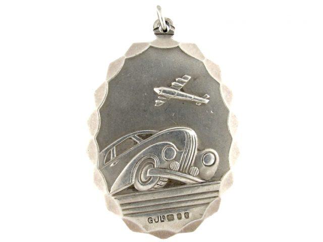 Georg Jensen Silver St. Christopher Pendant
