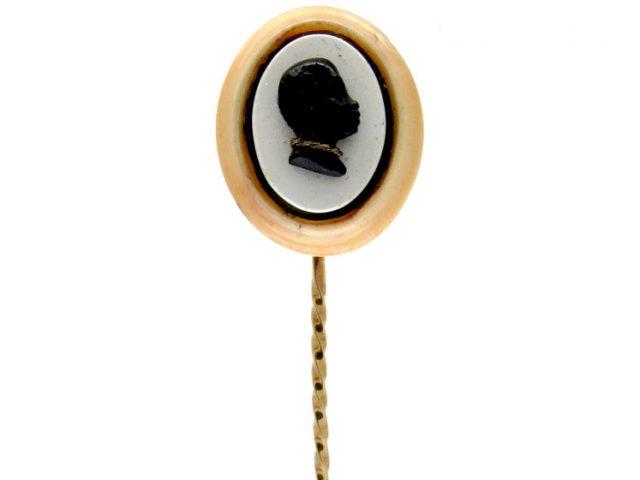 Blackamoor Head Tie Pin